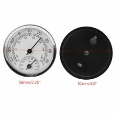 Wall Mounted Temperature Humidity Meter Thermometer & Hygrometer For Sauna Room