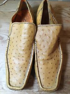 Clarks Tan leather casual shoes size uk 8