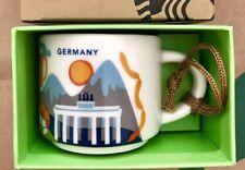 Starbucks Ornament 2oz Mug GERMANY YAH You Are Here Espresso cup Demi Tasse SKU
