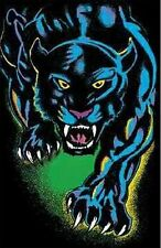 1970s Black Panther black light poster replica magnet - new!