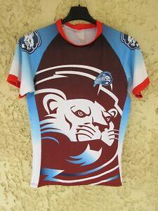 Maillot Rugby ARCOL porté n°2 moulant shirt M