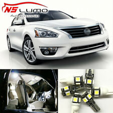 Interior LED Light Bulbs Package Kit for Nissan Altima 2008-2013 Map Trunk Door