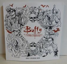 Joss Whedon Buffy The Vampire Slayer BTVS Adult Coloring Book Willow Angel Giles