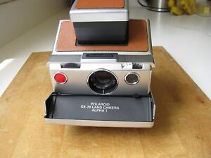 Polaroid SX-70 Alpha 1 Working Tested With Expired Film EXC+++