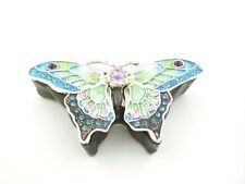 Bejeweled Butterfly Box By Ciel Collectables. Hand Made with Swarovski Crystals