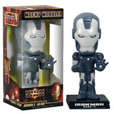Marvel IRON MAN  graphite exclusive PVC bobble-head 15cm