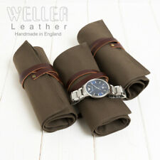 Canvas Travel Watch Roll, Canvas Watch Roll, Canvas Watch Holder