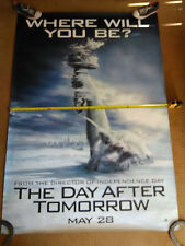 Bus Shelter / 6ft x 4ft Movie Poster, The day after Tomorrow