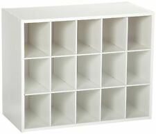 ClosetMaid 15 Cubby Shoe Organizer Accessory Storage Shelf Rack Holder Closet