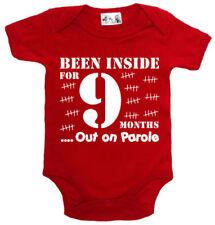 Vestiti neonati rossi per bambino da 0 a 24 mesi tutte le stagioni