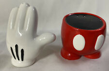 DISNEY MICKEY PANTS AND HAND Salt and Pepper Shaker Set