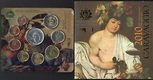 San Marino - Folder Monete divisionali fior di conio (Caravaggio), 2010