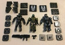 Mega Construx Halo CNG71 Spartan Locke Spartan Enforcer UNSC Pilot minifigures