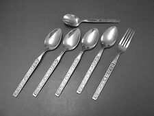 "Stanley Roberts Stainless Flatware "" LA COSTA "" Dinner Fork, Soup Spoons Sugar"