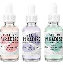 Isle Of Paradise Self Tanning Drops Face & Body 30ml Various Shades Fake Tan New