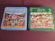 Roger Nannini 1000 Pc Puzzles - Silver Dollar City & Christopher's Teddy Bears