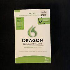 Nuance Dragon NaturallySpeaking Speech Recognition Software 11 Basics