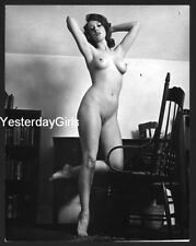 YGST-1737 VINTAGE B/W 8X10 1960'S SWEET ART POSED NUDE SHOT BY KEN WILLIAMS