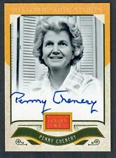 PENNY TWEEDY CHENERY - HAND SIGNED PANINI GOLDEN AGE SPORTS CARD - SECRETARIAT!