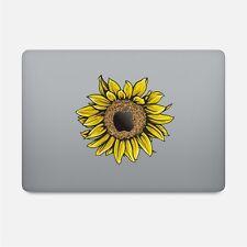 "PRETTY SUNFLOWER Sticker Decal Macbook Pro/Retina 12""13""15"" MODEL 2016-2018"