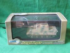 DRAGON ARMOUR GERMAN WW2 JAGDTIGER W/ ZIMMERIT PORSCHE TYPE 20MM 1/72 #60111