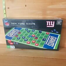 NFL Checkers Game - New York Giants - Masterpieces
