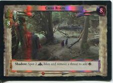 Lord Of The Rings Foil CCG Card RotK 7.U356 Cross Roads