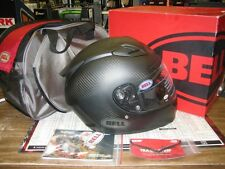 NEW Bell Star Carbon full face street bike helmet matte black XS 7000092