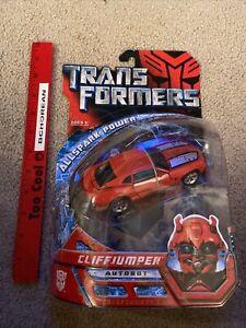 Transformers 2007 Movie Deluxe Class Allspark Power Cliffjumper Red Camaro New