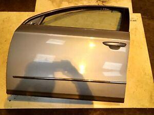 VW PASSAT B6 ESTATE FRONT PASSENGER SIDE N/S DOOR - ARCTIC BLUE - LB5M