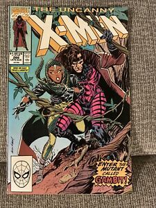 Uncanny Xmen 266 First Appearance Of GAMBIT!