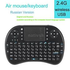 Mini 2.4G Wireless Russian RU Keyboard Handheld Air Mouse Touchpad RC New M1V0