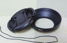 46 mm Metal Camera Lens Hood + 62mm Cap for Wide Angle Lens 46WC62