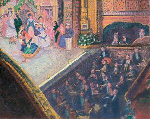 Ballet Scene by Spencer Frederick Gore 75cm x 60cm Canvas Print