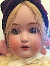 """15"""" Bisque Doll Kestner 171 B6 Composition Body Period Clothes Blonde Bv$650"""