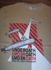 UNDEROATH Some Will Seek Forgiveness T-Shirt SMALL Hardcore Band NEW