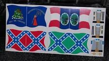Stickers para Banderas ACW (Playmobil Western)