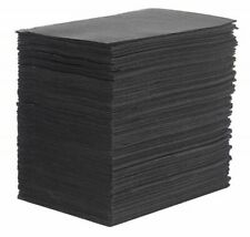 "Tattoo Table Black Covers Clean Pad Disposable Lap Cloths 125 Sheets 18"" x 13.5"""