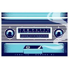 Tom Petty - 2017 Dan Stiles poster Newark, NJ 40th Anniversary Tour