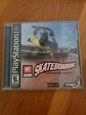MTV Sports Skateboarding Featuring Andy Macdonald PlayStation 1 PS1 Complete CIB