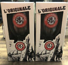 St-Ambroise Beer Glasses set of 2 NEW  Limited Edition  New in Box