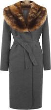 Taillenlange Damenjacken & -mäntel aus Wolle in Größe 40