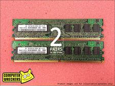 4GB (4x 1GB STICKS) PC2-5300 DDR2 667MHz *BULK BRANDS* COMPUTER MEMORY RAM DIMM