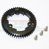 GPM Racing Steel Spur Gear 50T M1.0 - (1Pc) Black : XO-01