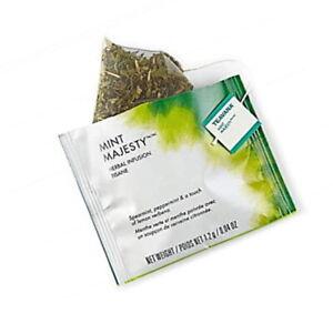 FRESH STOCK Starbucks Teavana Tea - Mint Majesty Herbal - 100 Sachets No Box
