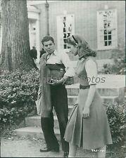 1957 Peyton Place Original Press Photo Lana Turner Hope Lange Lee Philips