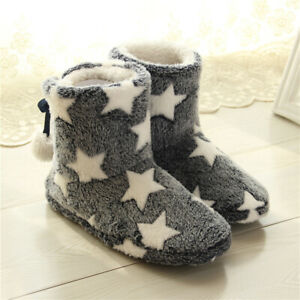 Home Snow Boots Furry Handmade Shoes Cotton Thick Bottom Factory Direct/