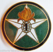 Insigne 1939 WWII SAHARA 1° REI CM LEGION ETRANGERE Retirage Drago émail