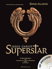 Jesus Christ Superstar Learn to SING Audition Vocals Piano PVG Music Book