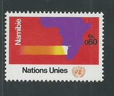 United Nations, Geneva # 34 Mnh 1973 Namibia, Map Of Africa